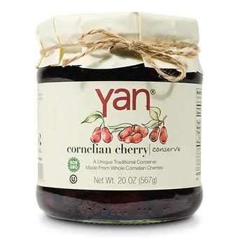 Yan Cornelian Cherry Conserve 20oz