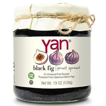 YAN Premium Black Fig Fruit Spread 19oz