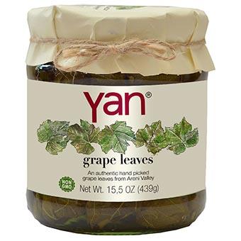 Yan Grape Leaves 15.5oz