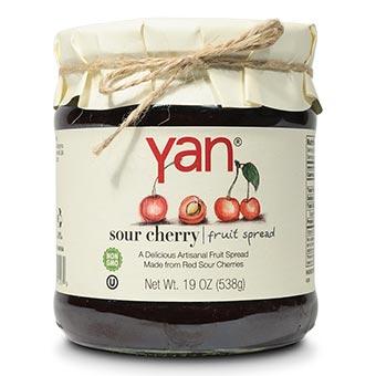 Yan Sour Cherry Fruit Spread 19oz