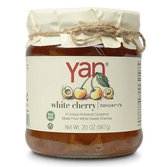 Yan White Cherry Conserve 20oz
