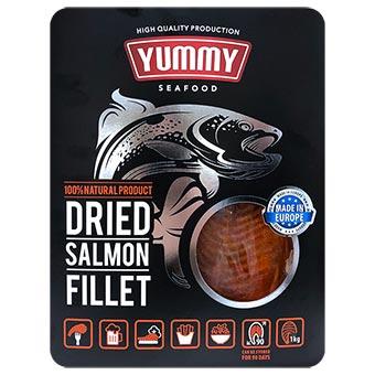Yummy Dried Salmon Fillet 1kg