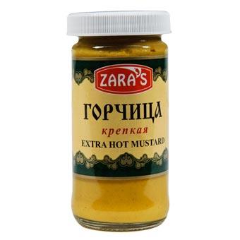 Zaras Extra Hot Russian Mustard