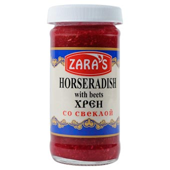 Zaras Horseradish with Beets 4oz