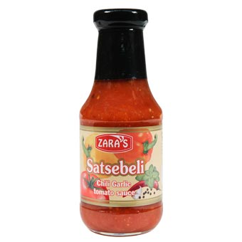 Zaras Satsebeli Chili Garlic Tomato Sauce