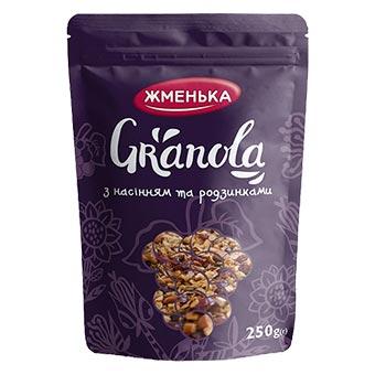 Zhmenka Granola Cranberry 250g