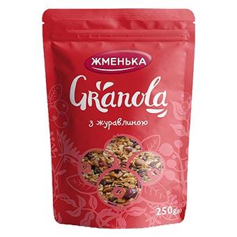 Zhmenka Granola Weeds Raisins 250g