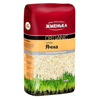 Zhmenka Peeled Organic Barley 400g