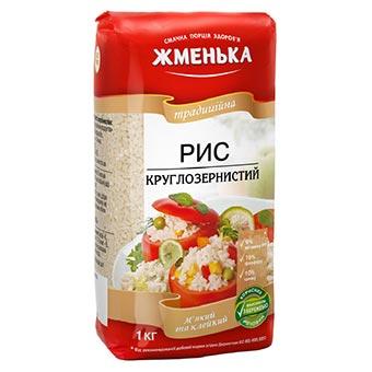 Zhmenka Round Grain Rice 1kg