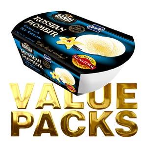 Family Value Packs Cheesecake Bars & Ice Cream