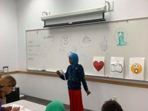 Teaching digital communication