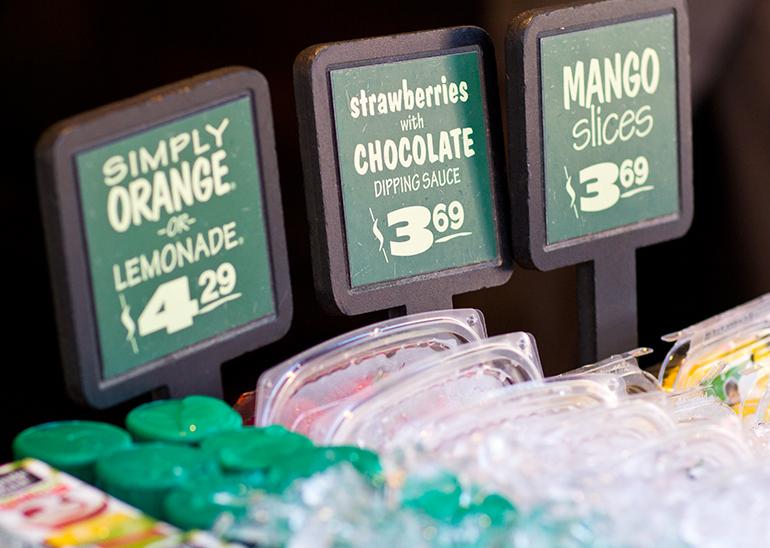 A Closeup Photo of Fresh Fruit for Sale in Adventureland at Disneyland