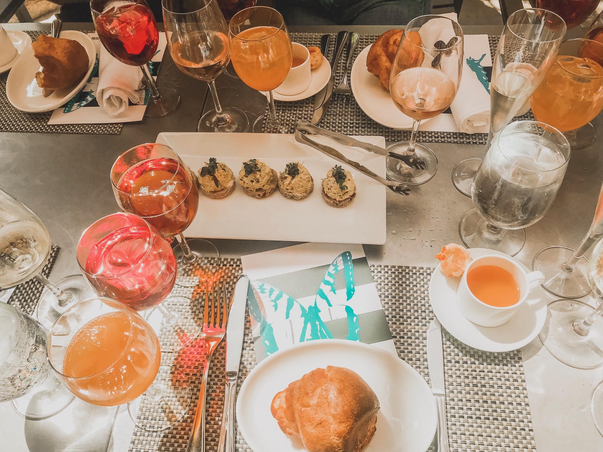 Neiman Marcus cafe food blogger at Topanga Food Crawl