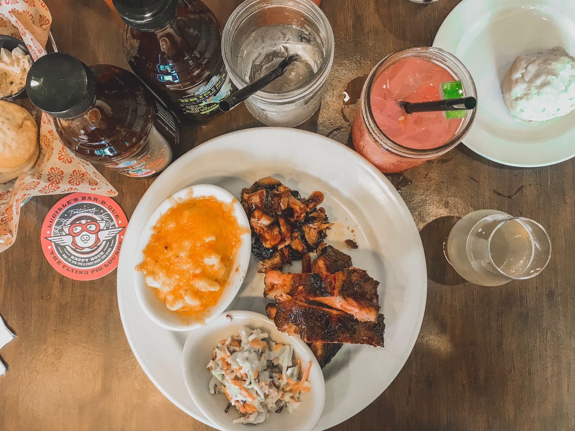 Lucilles Restaurant Topanga Village Food Crawl