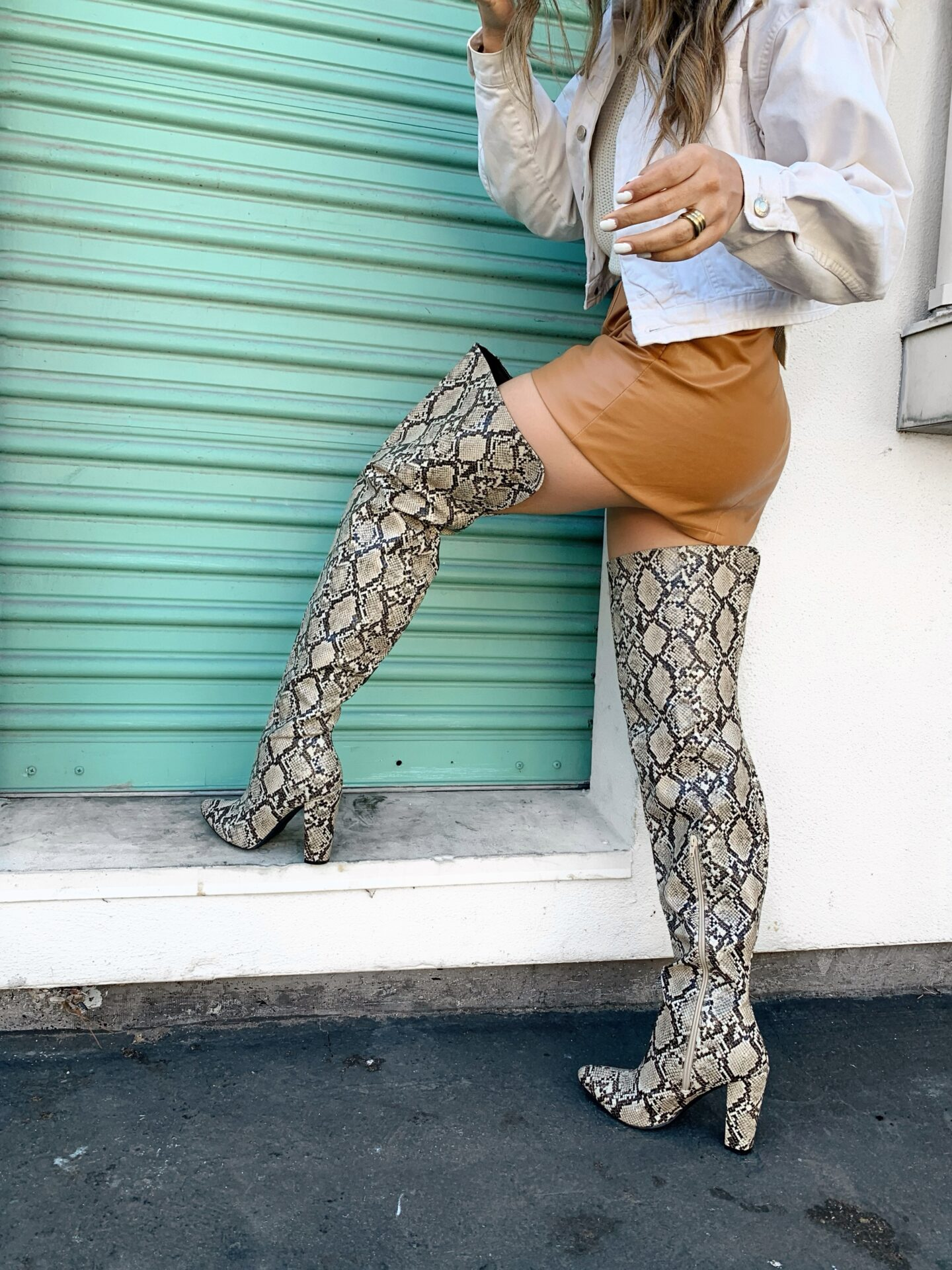Alexis Alcala sharing this seasons hottest winter boots wearing Cupid and zooshoo