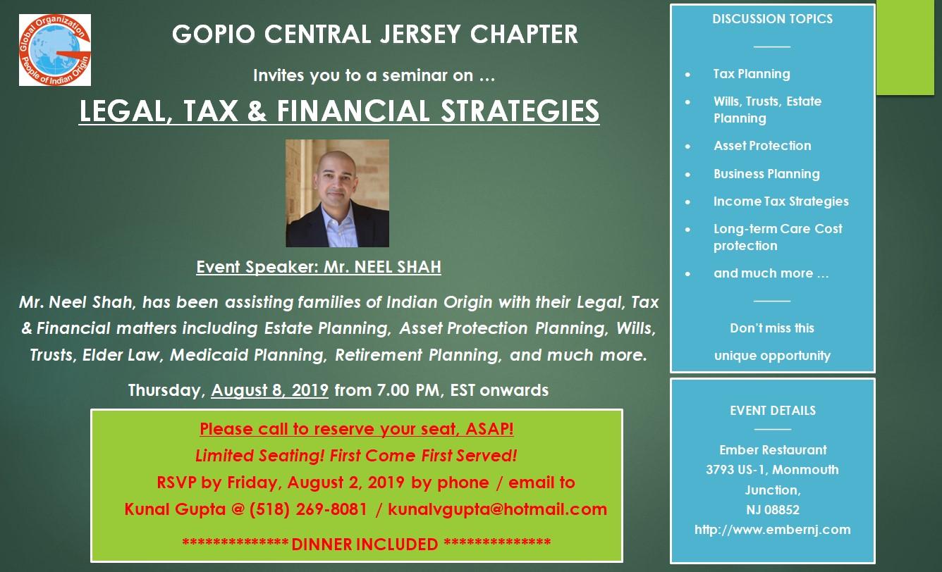 Legal Tax Financial Strategies