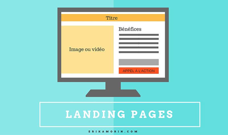 Comment faire usage des « landing pages » ou pages de renvoi?