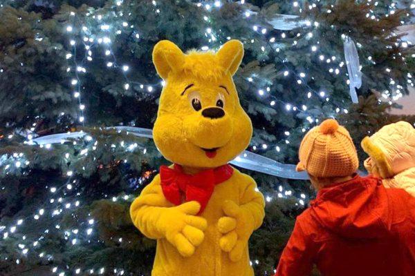 Haribo Mascot Christmas