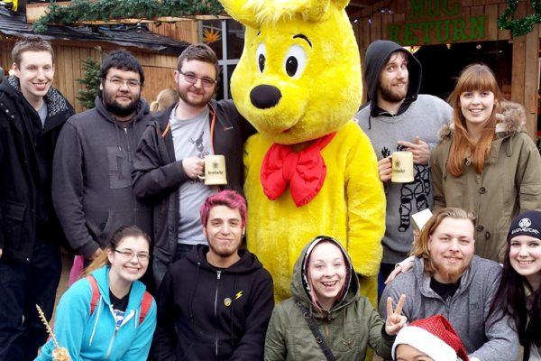 Haribo Mascot with Staff