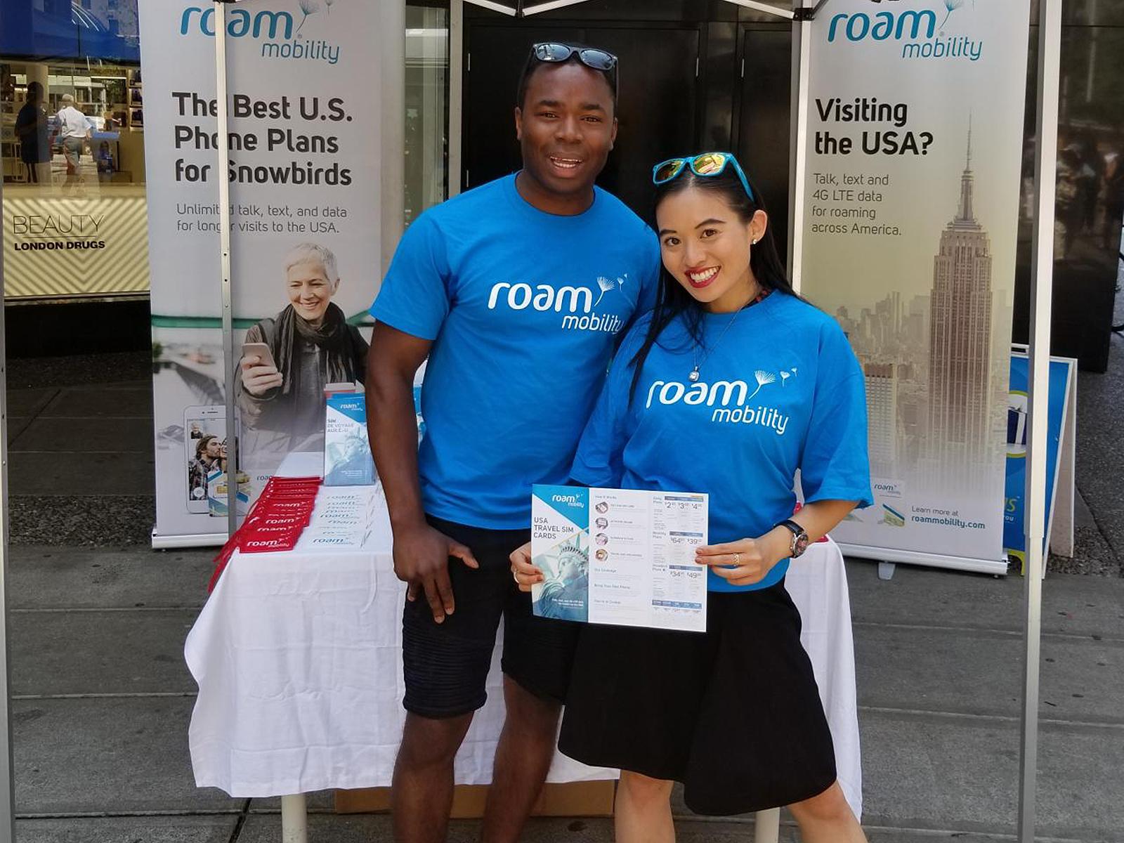 Roam Mobility Street Marketing - UB Marketing