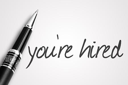 DEnver Resume Service, you're hired