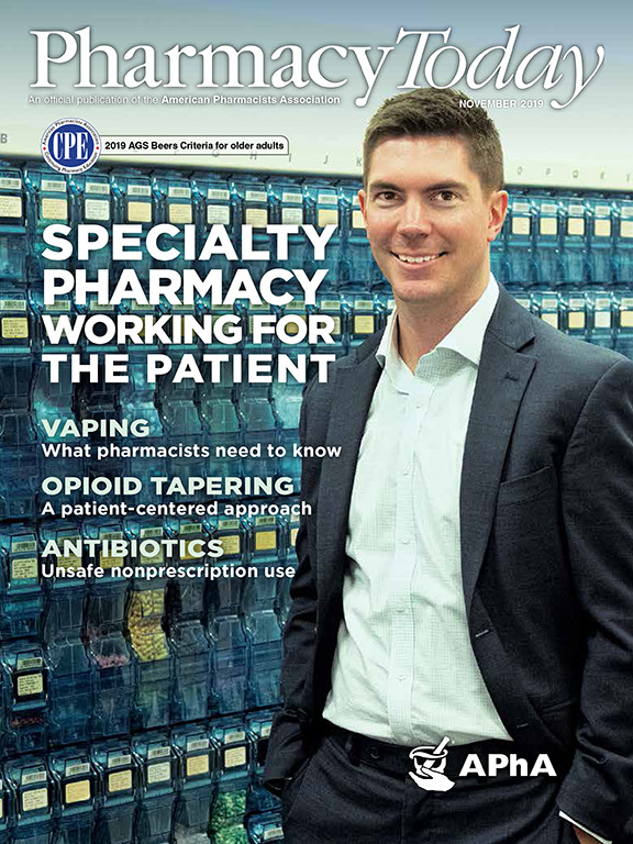 Jacob-Jolly-on-cover-of-Pharmacy-Today-November-2019-by-Weatherly-Photography