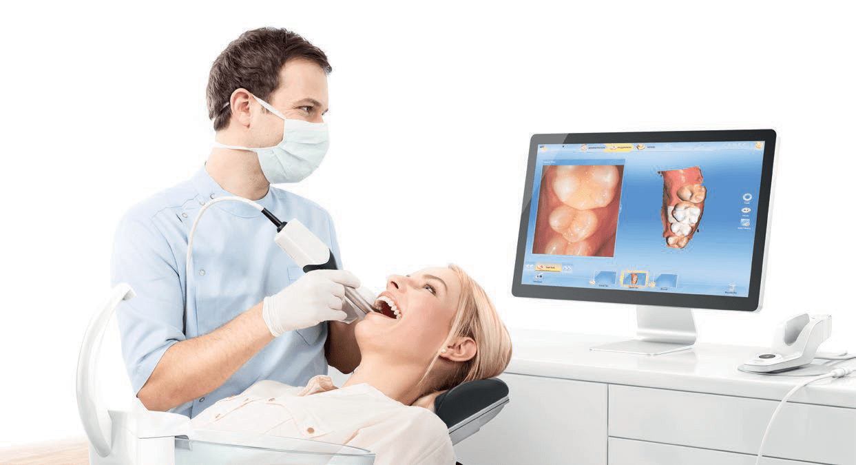 CEREC-Dentist-Patient