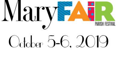MaryFair Weekend 2019