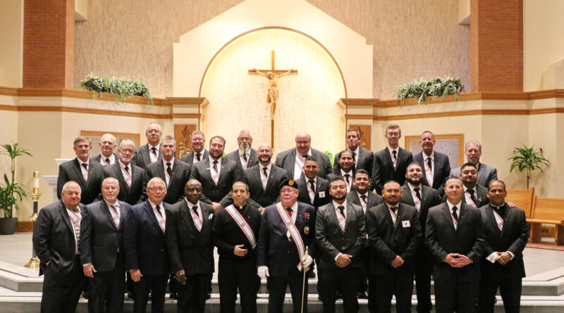 Church hosts Knights of Columbus Fourth Degree ceremony
