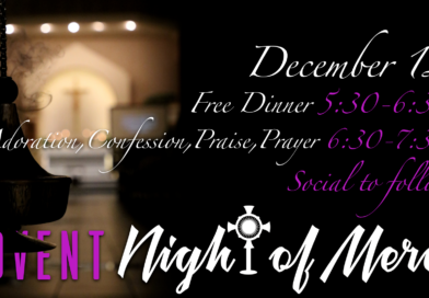 Advent Night of Mercy this Thursday