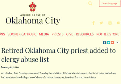 Retired Oklahoma City priest added to clergy abuse list