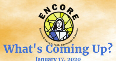 What's Coming Up? January 24, 2020