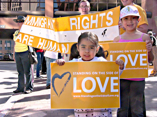 Standing on the side of Love - Immigrants