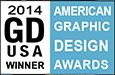 Graphic Design USA magazine American Graphic Design Awards Winner 2014