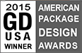 Graphic Design USA magazine American Package Design Awards Winner 2015