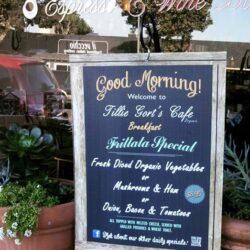 Plastic signage and menus