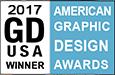Graphic Design USA magazine American Graphic Design Awards Winner 2017