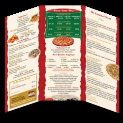 Pixels Graphic Design Restaurant togo menus