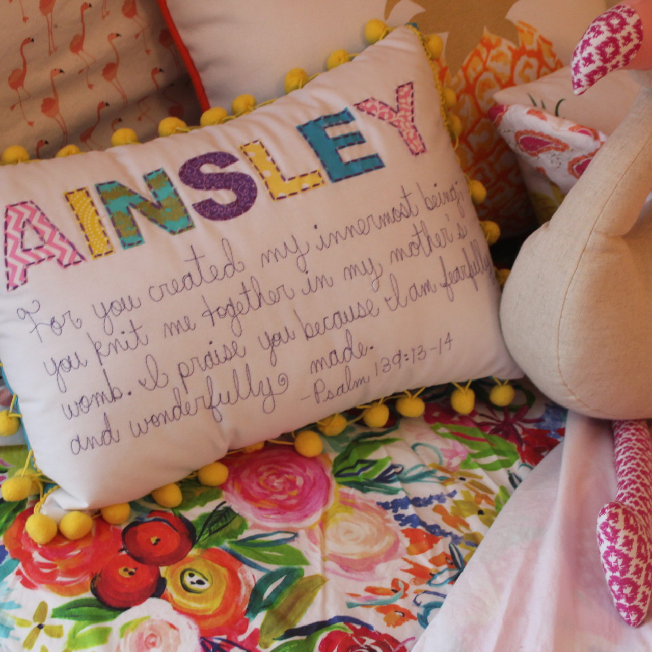 Ainsley's toddler room reveal!