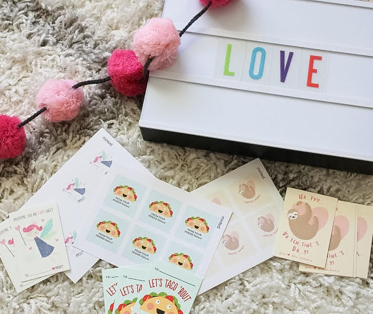 Valentines Day with Minted!