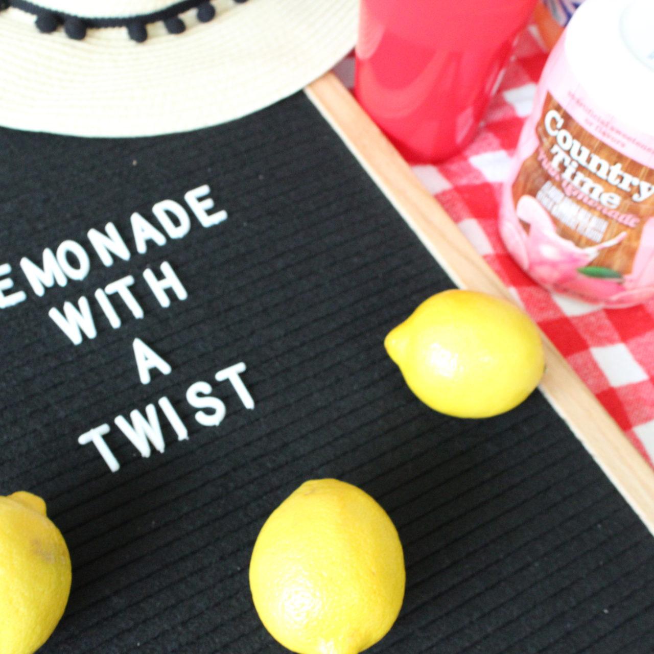 Summer Lemonade with a Twist