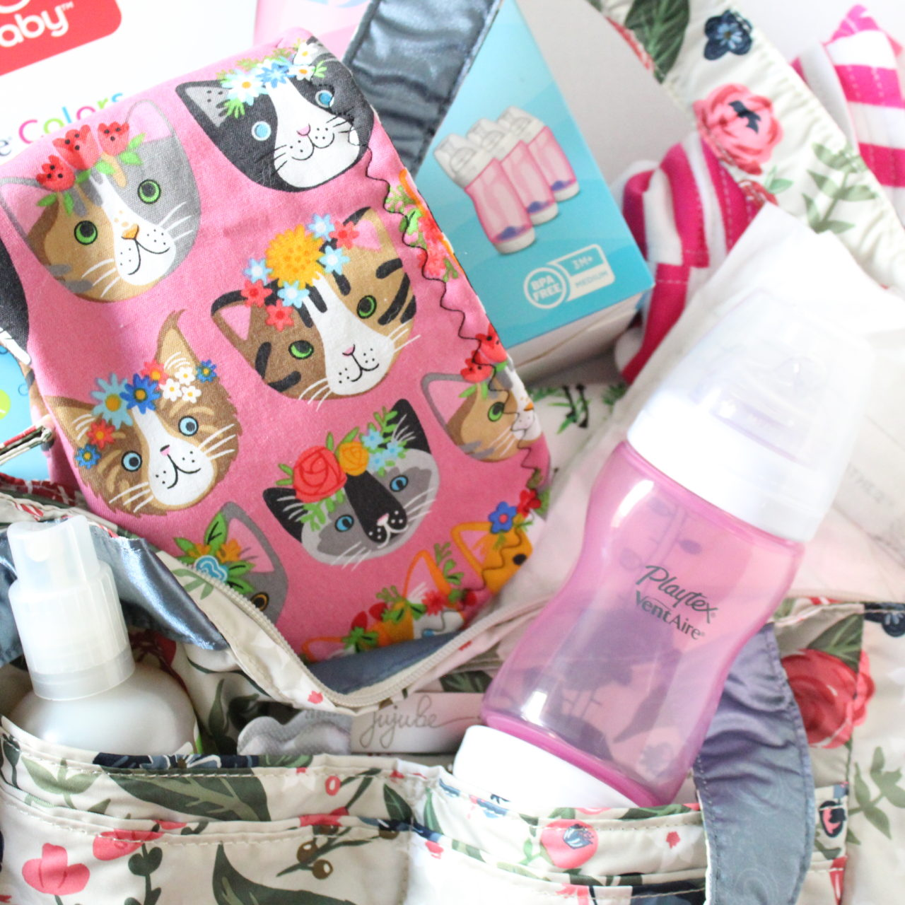 Pool bag essentials for baby