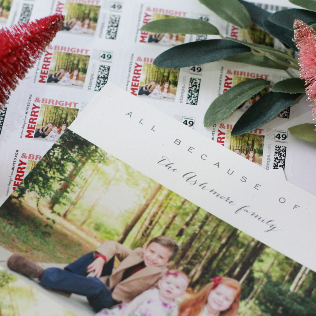 Choosing the perfect Christmas card