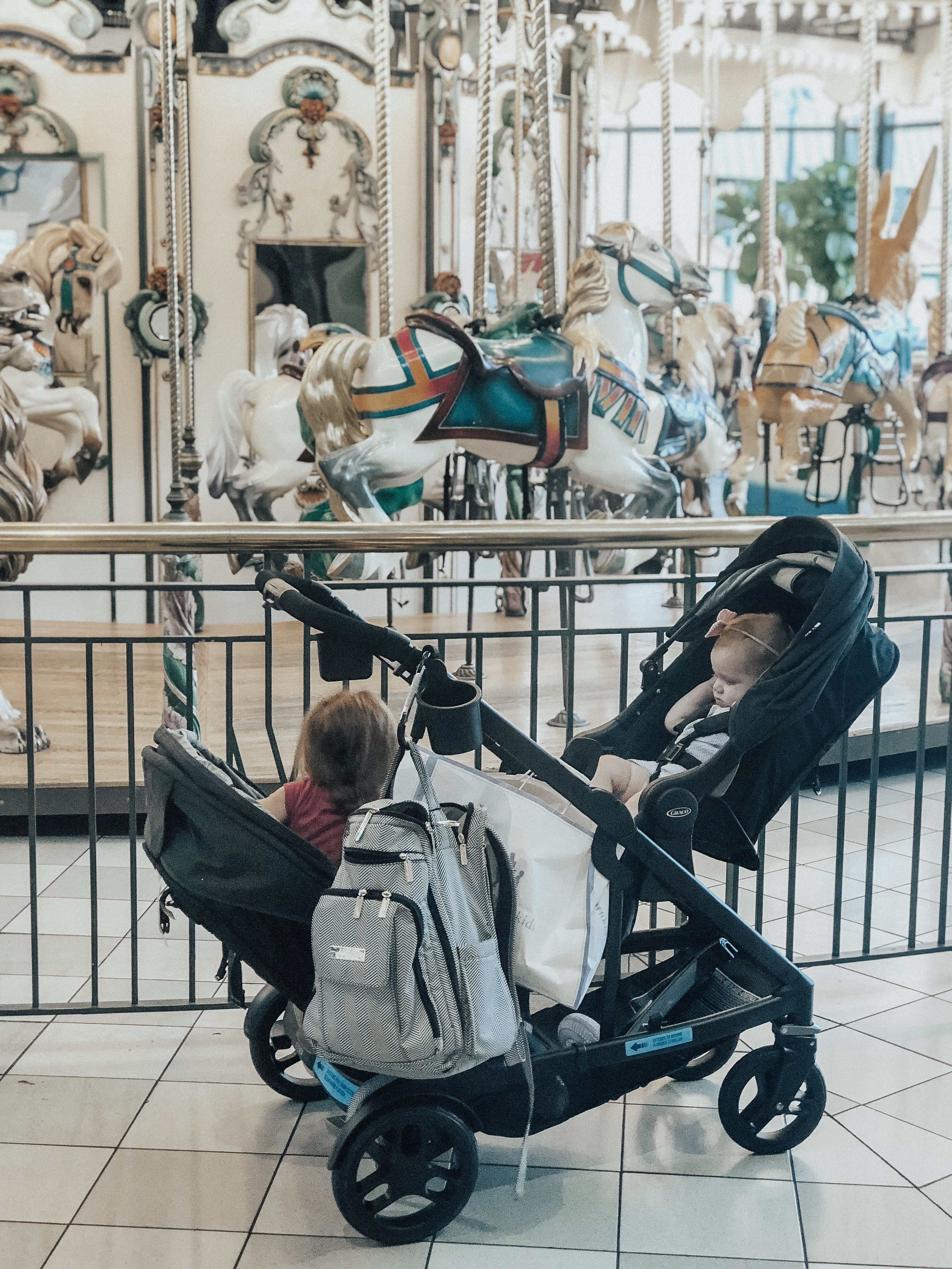 Summer with Graco stroller