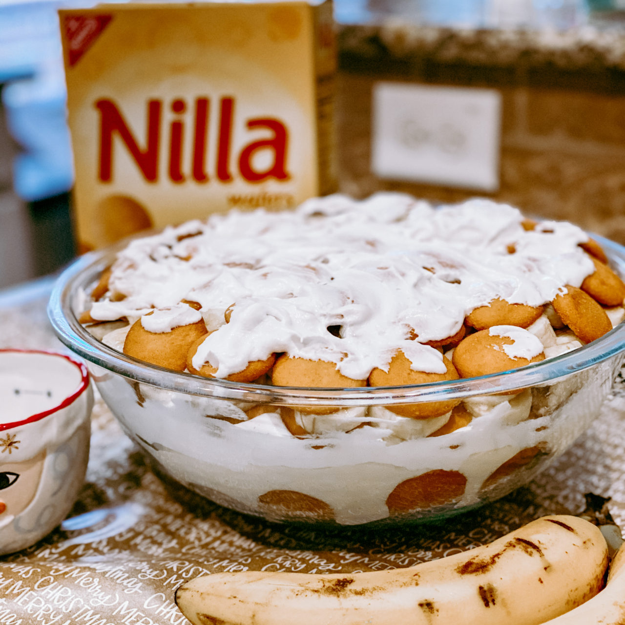 Quick, easy, and delicious banana pudding