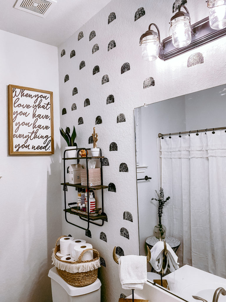 painting DIY your bathroom for under $50