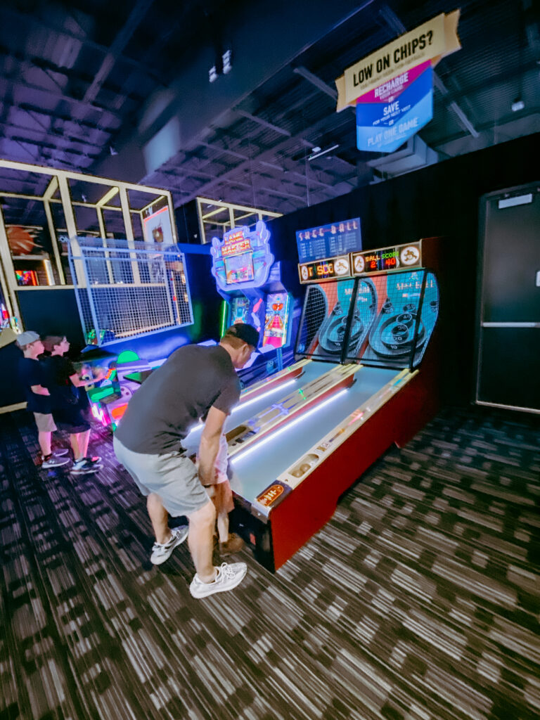 BOHO RAINBOW BIRTHDAY PARTY AT DAVE & BUSTERS THE WOODLANDS