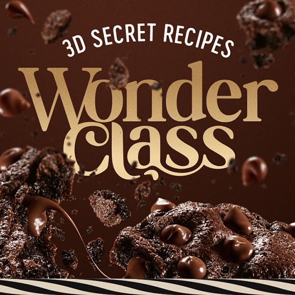 Wonder Class – 3D Cookies