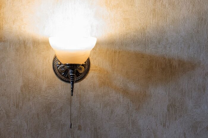 Wall mounted indoor light