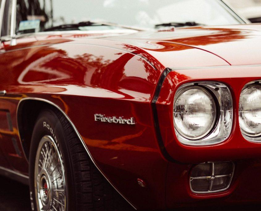 firebird with classic car insurance